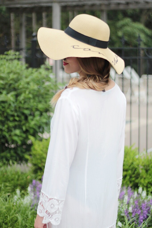 pool day sun hat