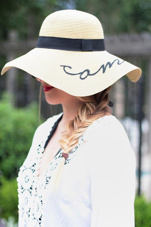 summer style sun hat