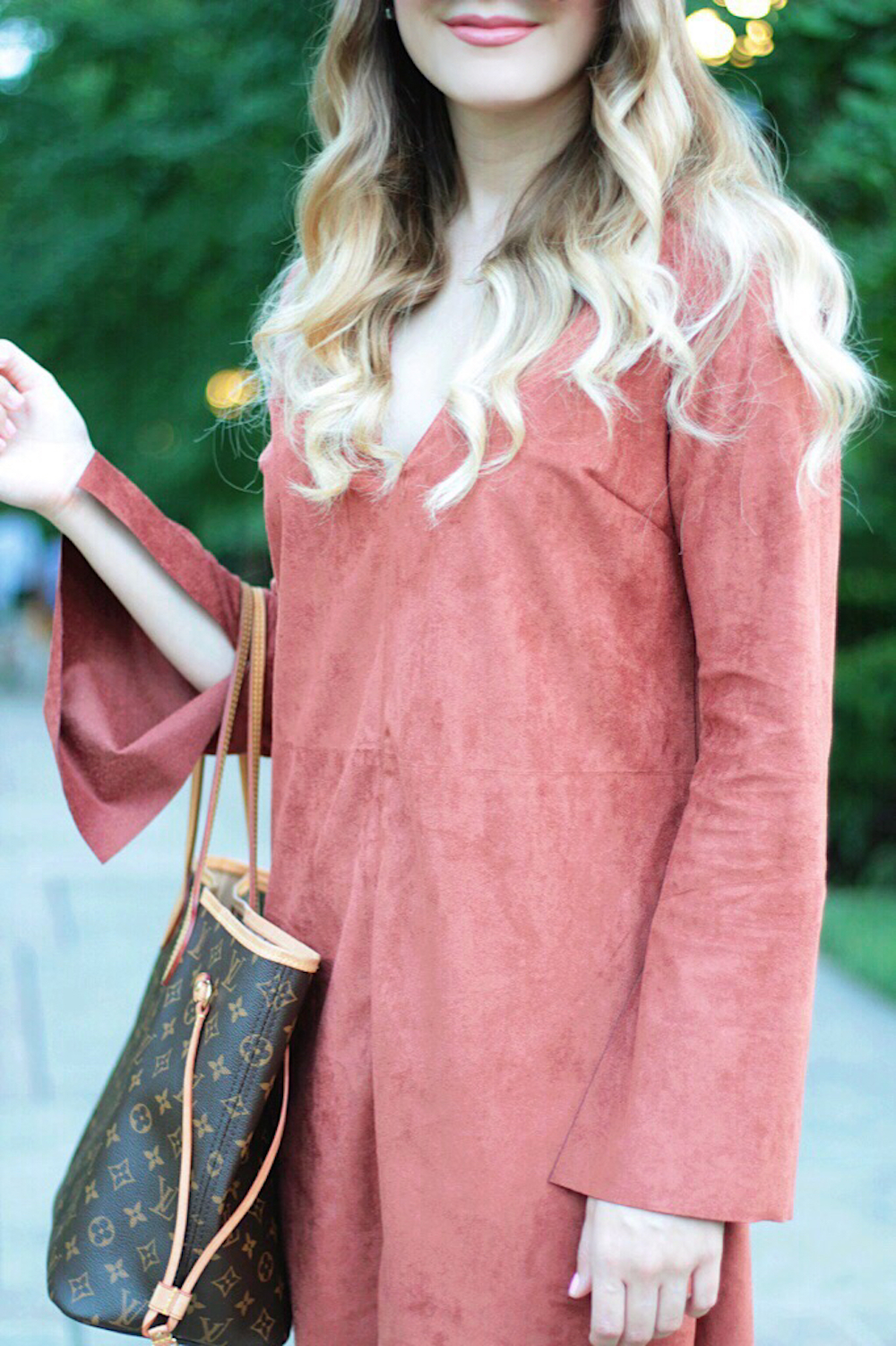 fall style shift dress between two coasts