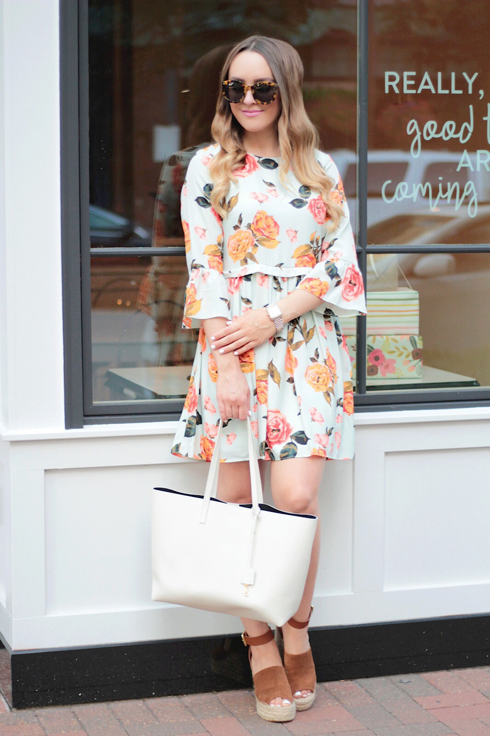 floral dress summer style