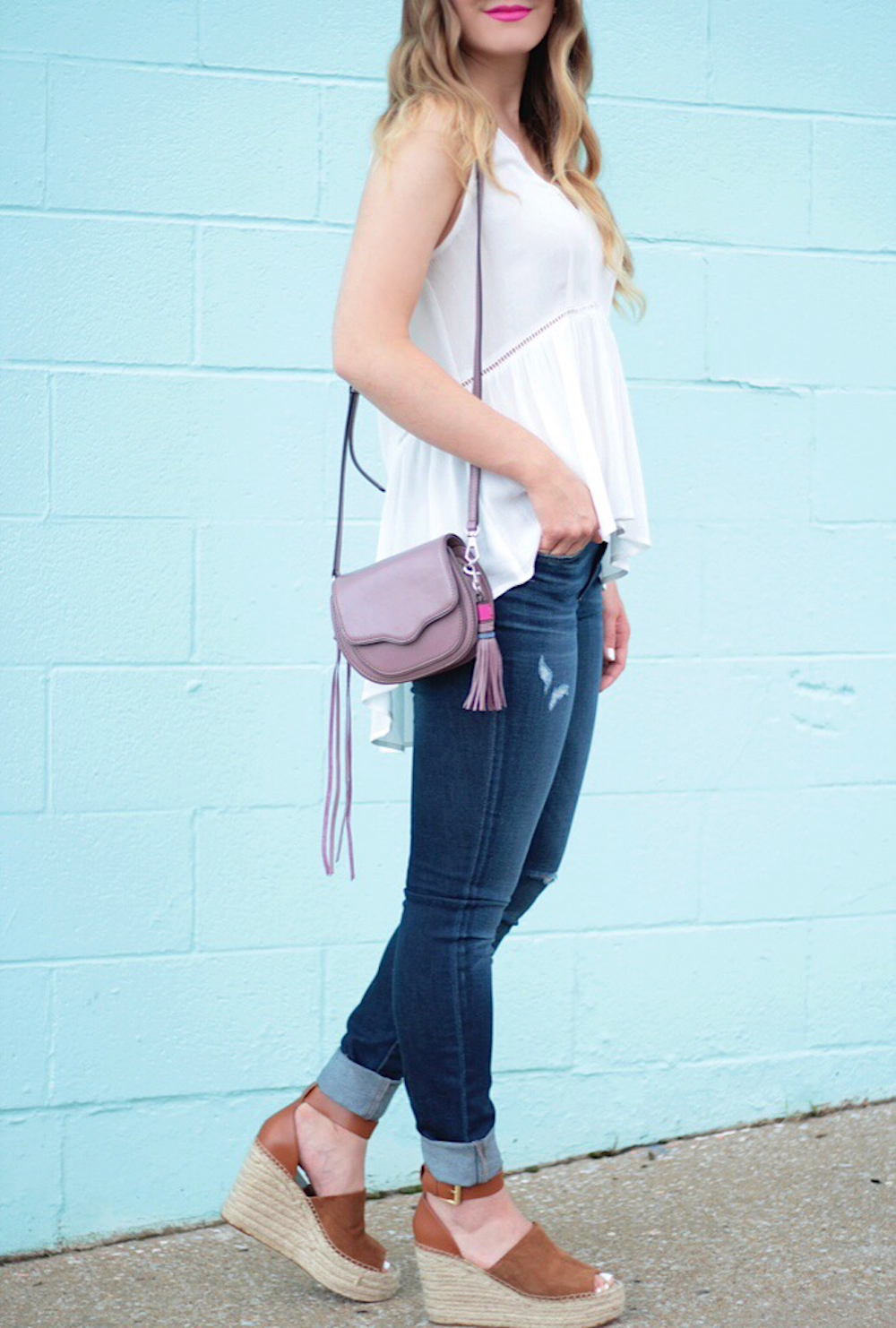 nordstrom white tank fashion blogger