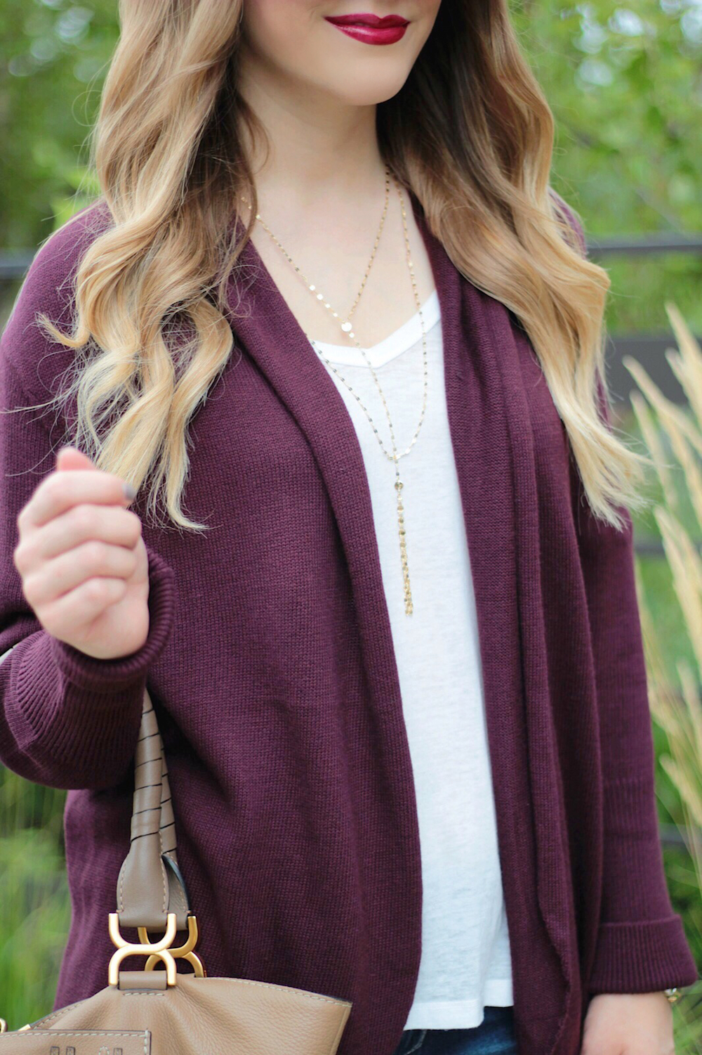 burgundy fall basics