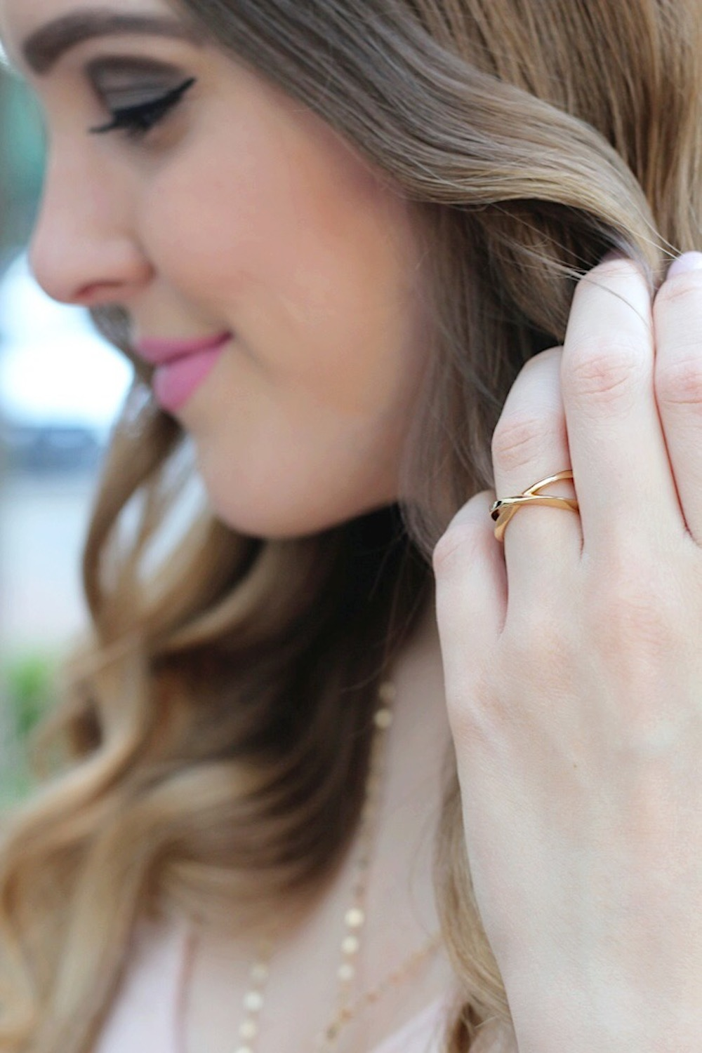 simple pretty jewelry fashion blogger rachel puccetti