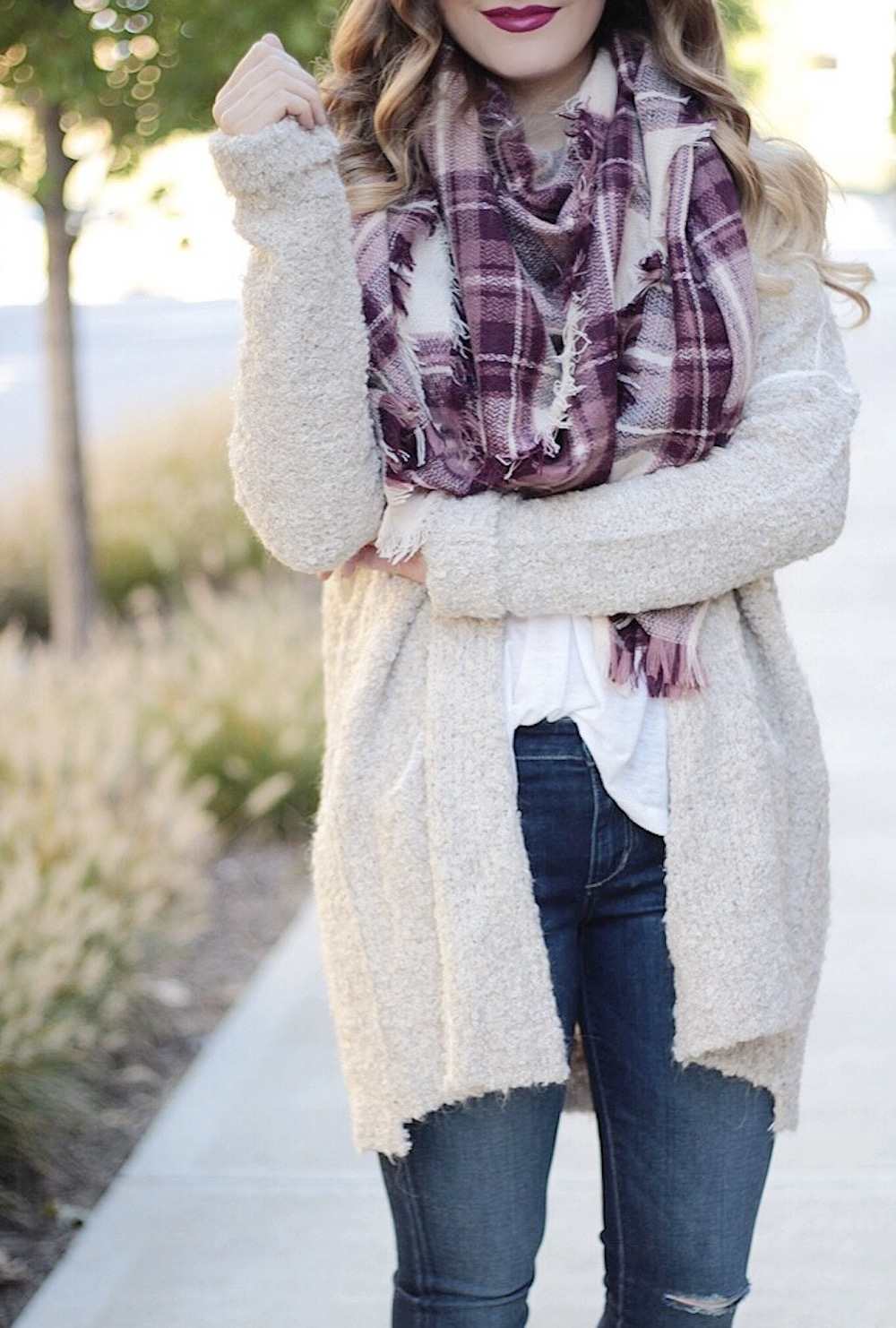 cozy sweater fashion blogger rachel puccetti between two coasts