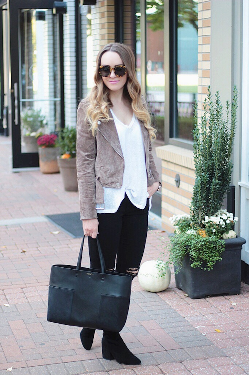 suede moto jacket rachel puccetti between two coasts