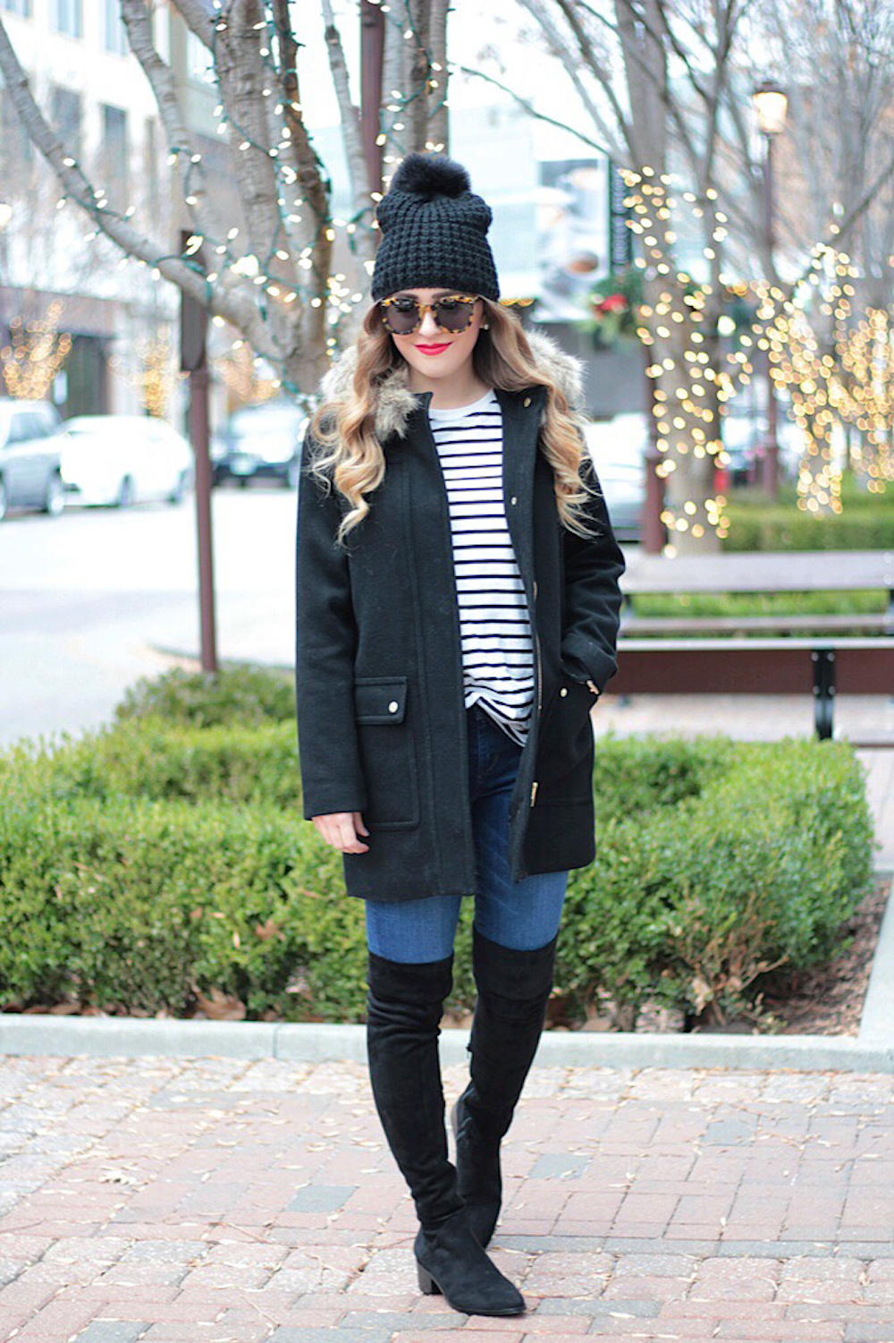black steve madden over the knee boots rachel puccetti