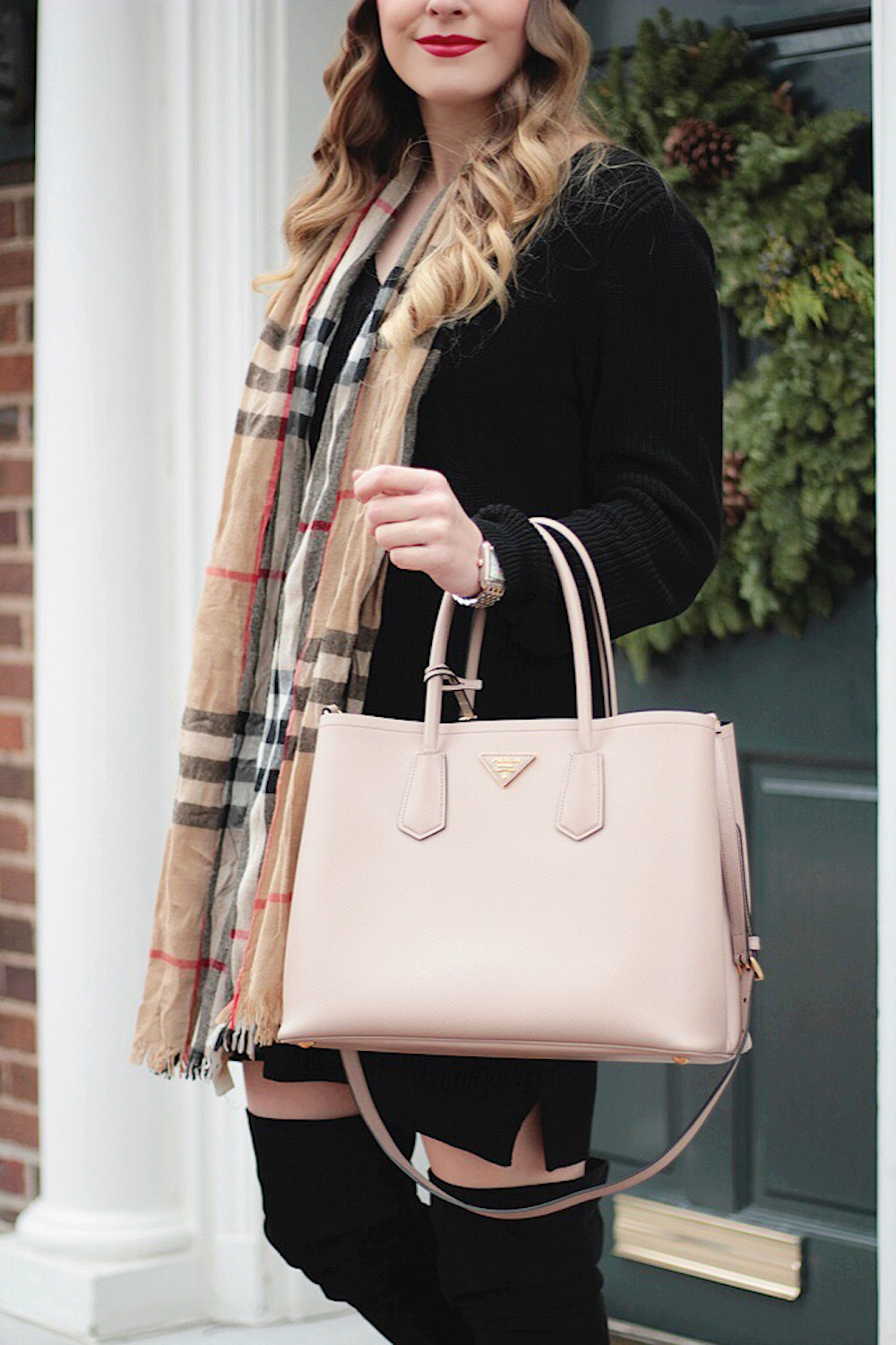 fashionphile prada double bag rachel puccetti between two coasts