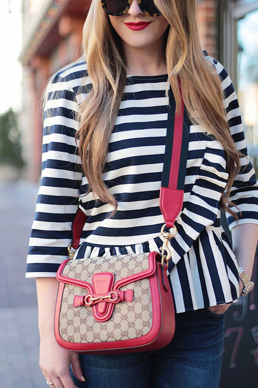 lady web gucci bag style blogger rachel puccetti between two coasts
