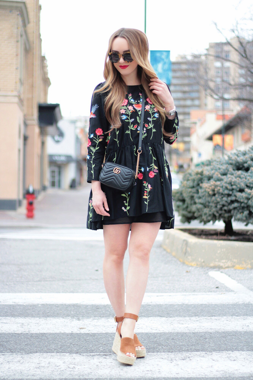 zara dress fashion blogger rachel puccetti between two coasts