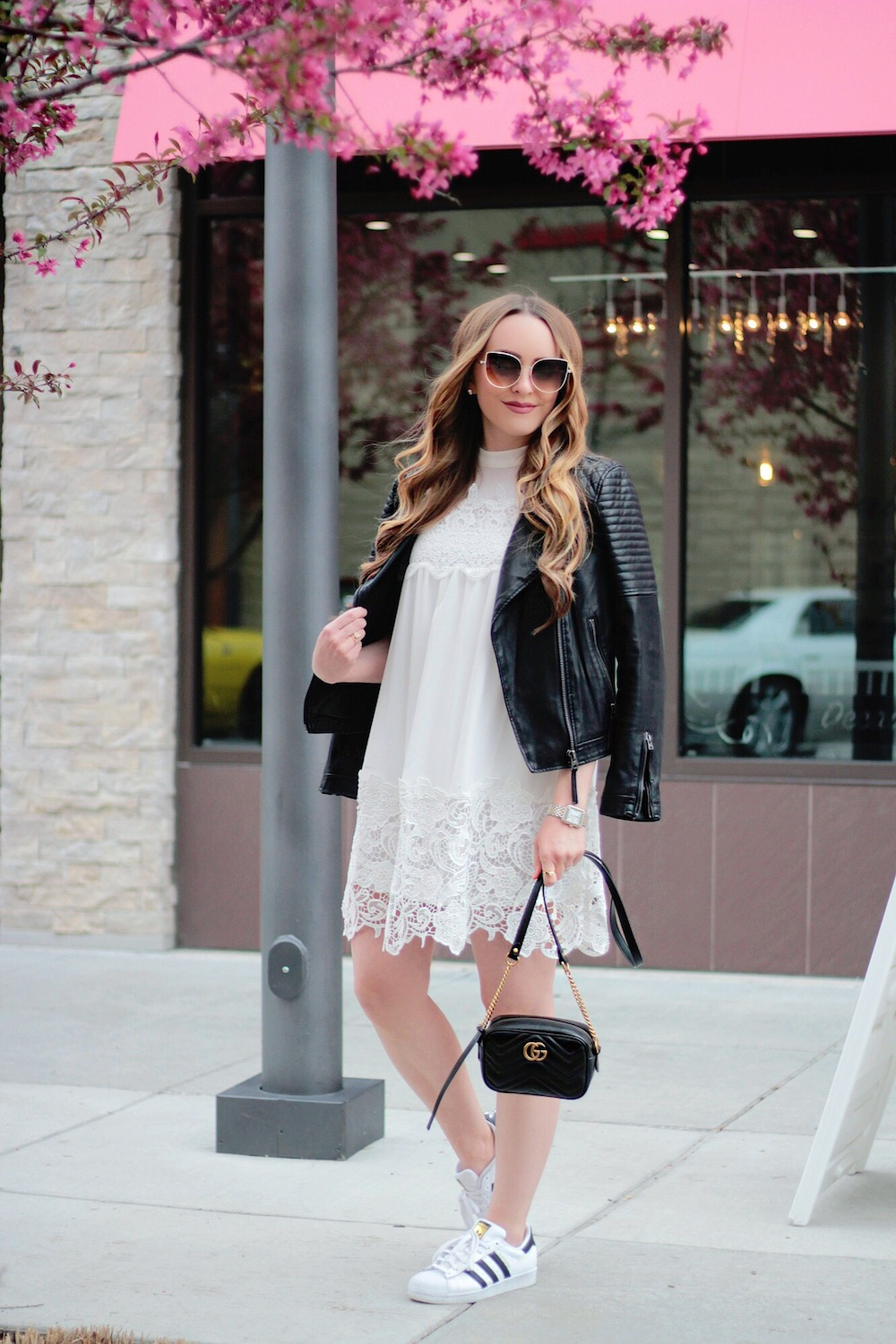 leather and lace outfit ideas rachel puccetti between two coasts