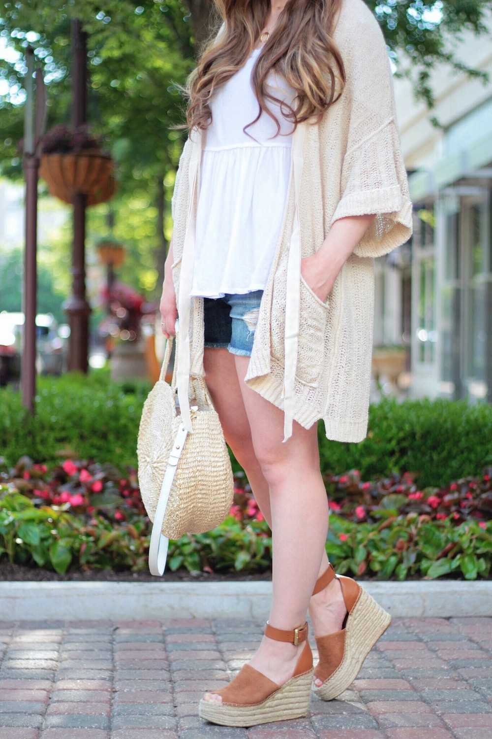 summer cardigan rachel puccetti between two coasts