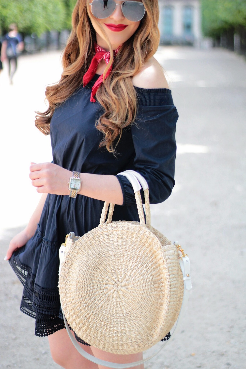 off the shoulder dress rachel puccetti between two coasts