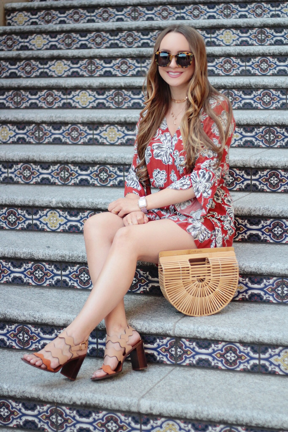 floral romper rachel puccetti between two coasts