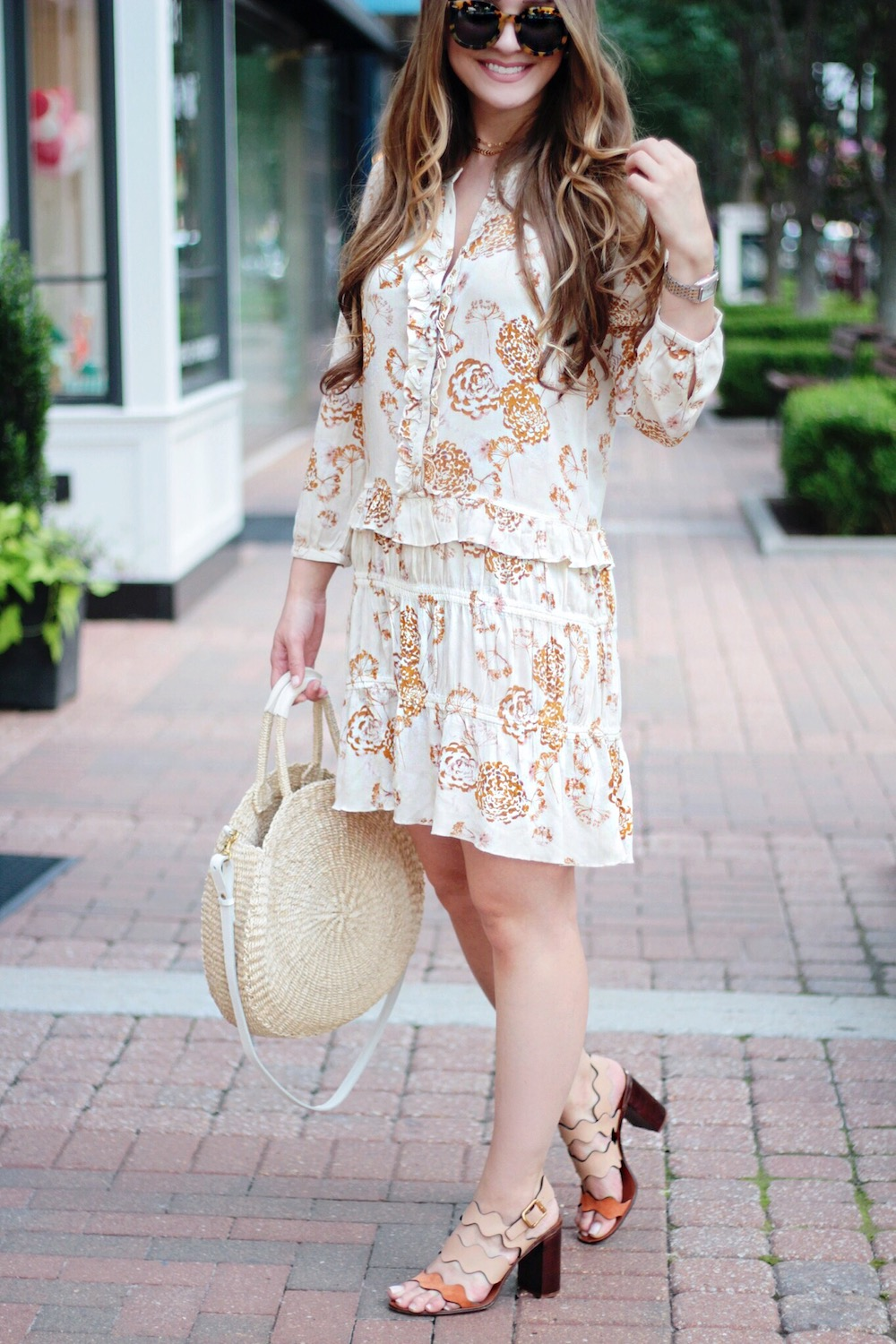 hinge floral dress nsale rachel puccetti between two coasts