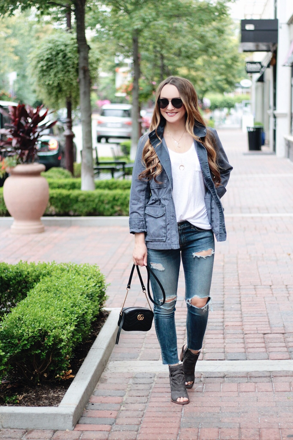 utility jacket outfit inspiration rachel puccetti