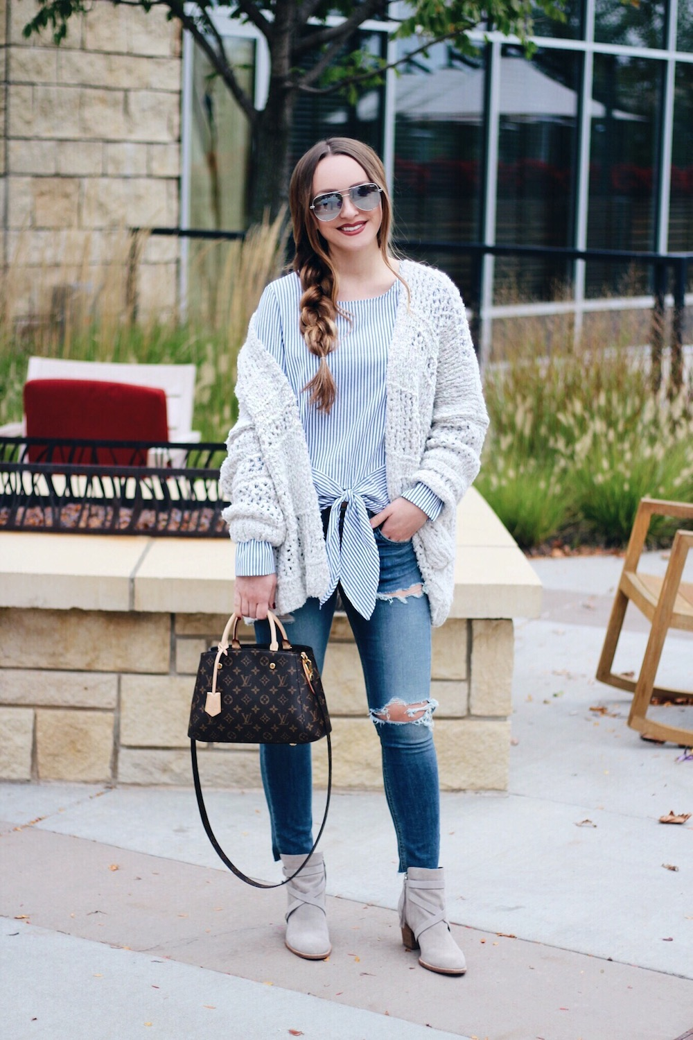 fall layering outfit rachel puccetti