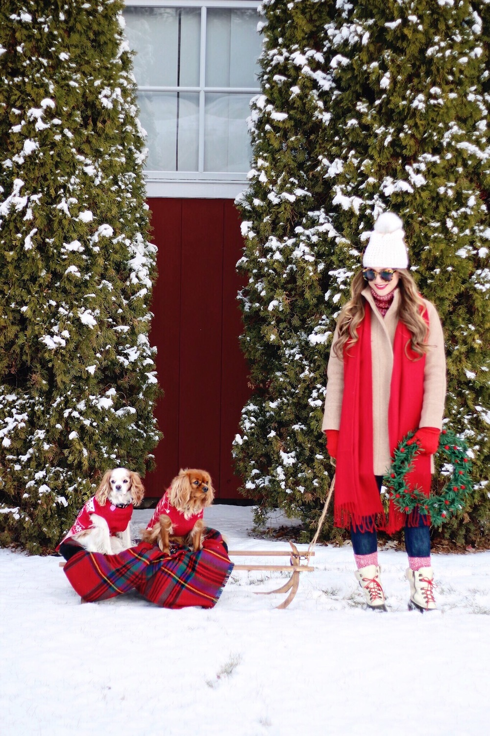 christmas outfit 2017 rachel puccetti between two coasts