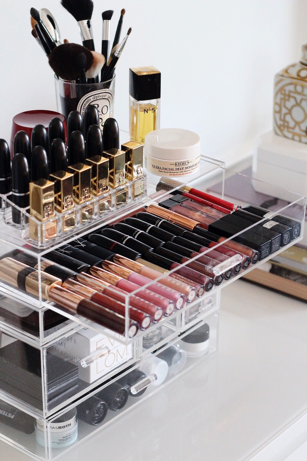 makeup organizer drawers rachel puccetti between two coasts