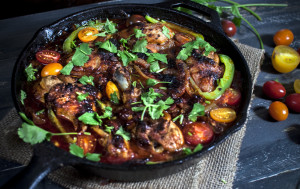 Paleo One Skillet Chorizo Chicken