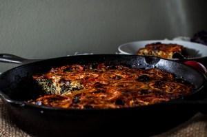 Paleo Chorizo Kale Frittata