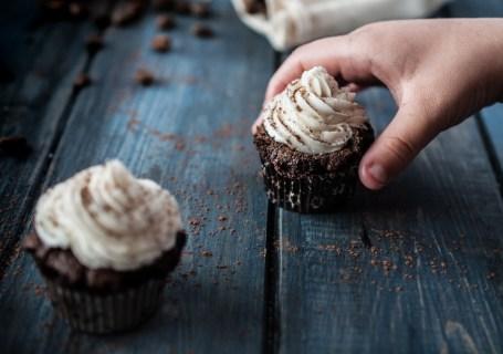 Paleo Chocolate Espresso Cupcakes