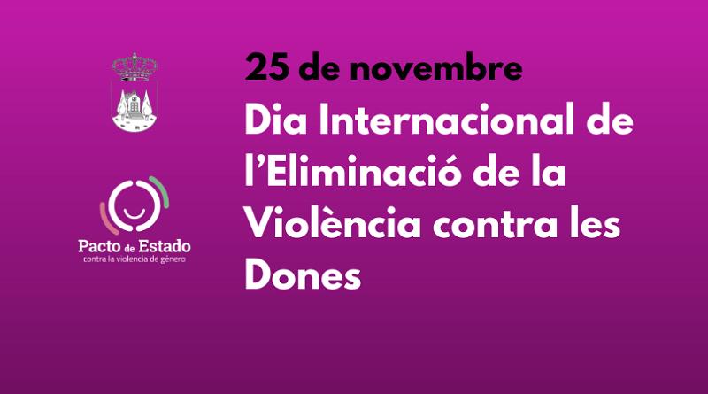 Dia Internacional de l'Eliminació de la Violència contra les Dones