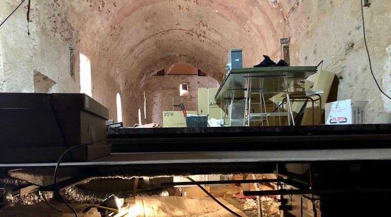 Betxí condiciona la Sala de la Volta del Palau Castell