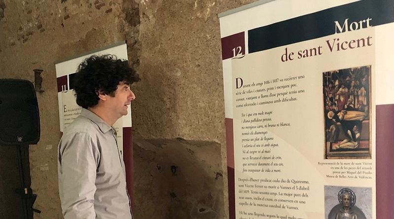 L'Ajuntament inaugura una exposició sobre Sant Vicent Ferrer