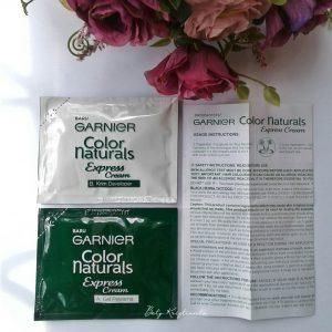 Review Garnier Color Naturals Express Cream.