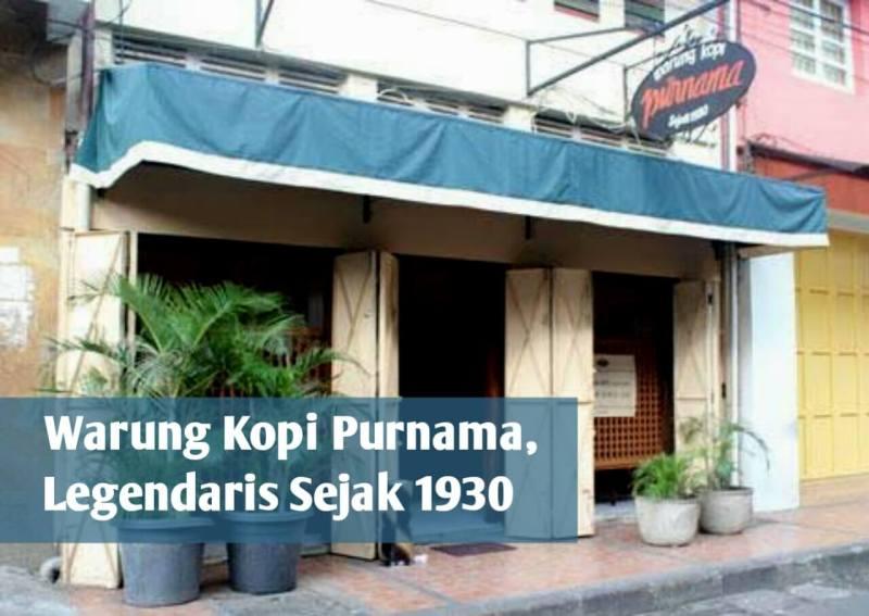 Nyantai Sejenak di Kopi Purnama, Warung Kopi Legendaris di Pusat Kota Bandung