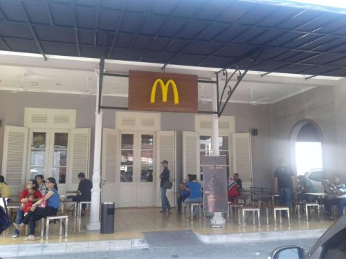 MC donald sultan Agung Jogja