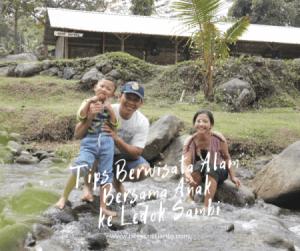 Main Air dan Menikmati Wahana Outbond Keren di Ledok Sambi Kaliurang