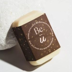 barre exfoliante peau sensible