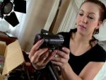 sextape de Nora Luxia teste sa nouvelle caméra avec le vendeur