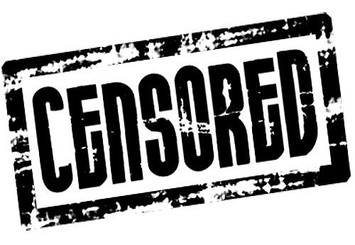 Afbeeldingsresultaat voor censuur