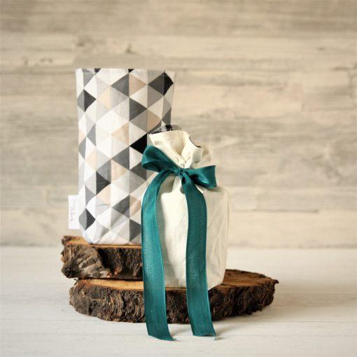 Geschenkbeutel Dreiecke