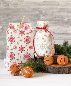 Geschenkbeutel Weihnachten Weihnachtssterne