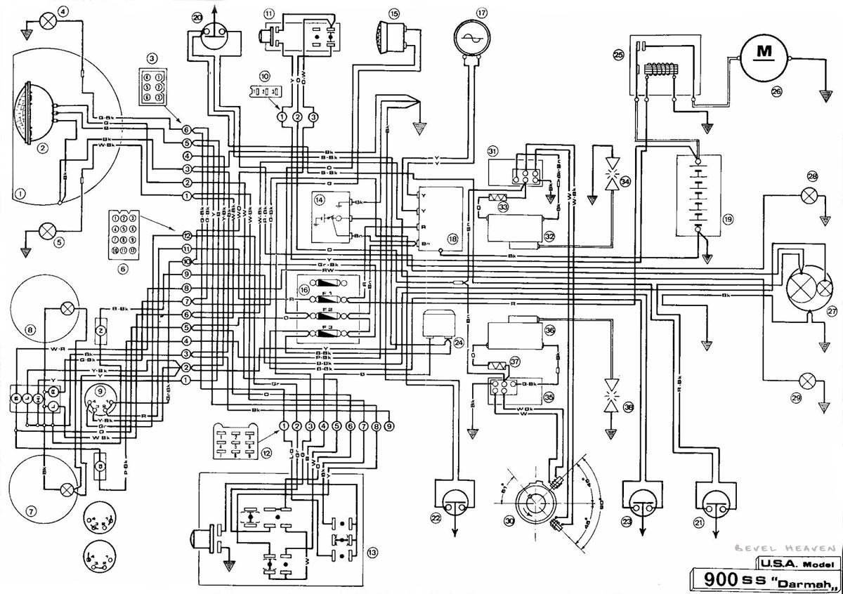 gl1500 radio wiring guide