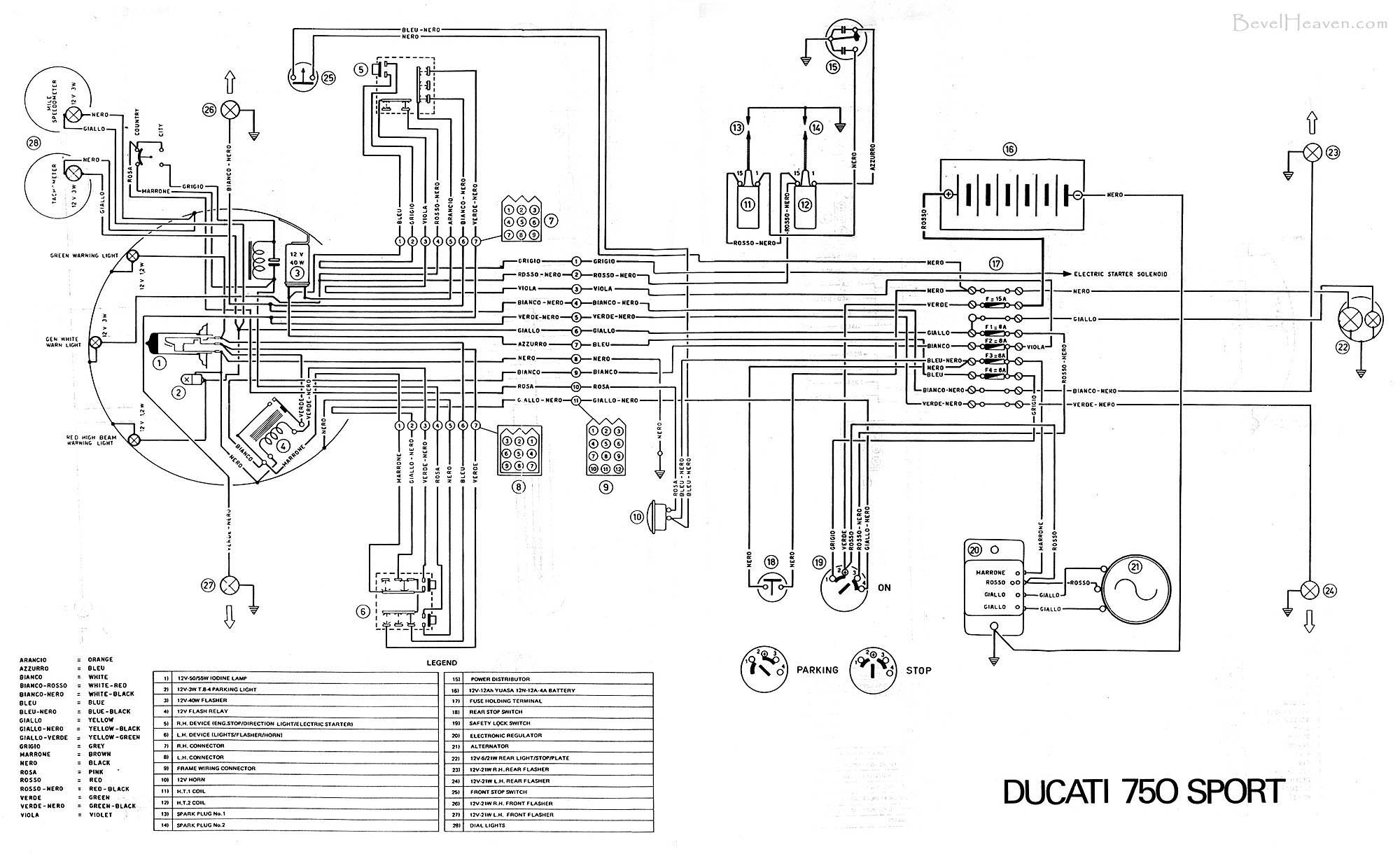 1980 Ducati Darmah Wiring Diagram,Darmah • Edmiracle.co