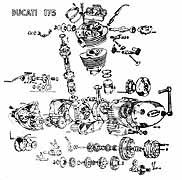 Ducati Classic Posters etc