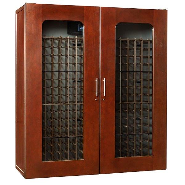 Le Cache 5200 Premium Wine Cellar Cabinet - Classic Cherry