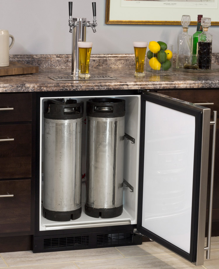 Marvel ML24BNS1RSX2HB Kegerator Cabinet with XCLUSIVE 2