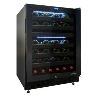 Vinotemp VT-46TS-2Z - 46-Bottle Dual-Zone Touch Screen ...