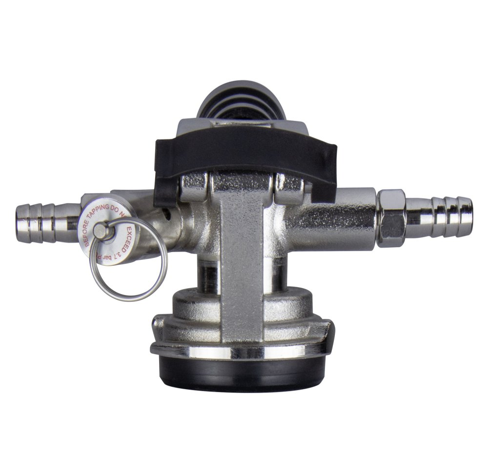medium resolution of kegco kt41d lp low profile d system keg tap coupler