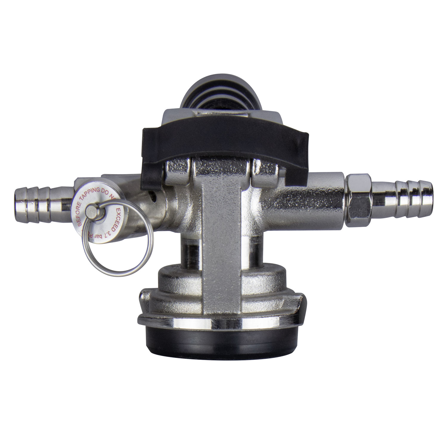 hight resolution of kegco kt41d lp low profile d system keg tap coupler