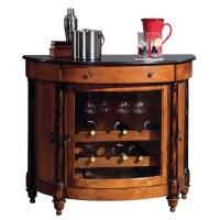 Howard Miller 695-016 Merlot Valley Wine Console Cabinet ...