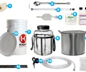 small scale home brewing