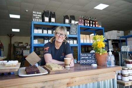 Roastery into pop-up farm shop