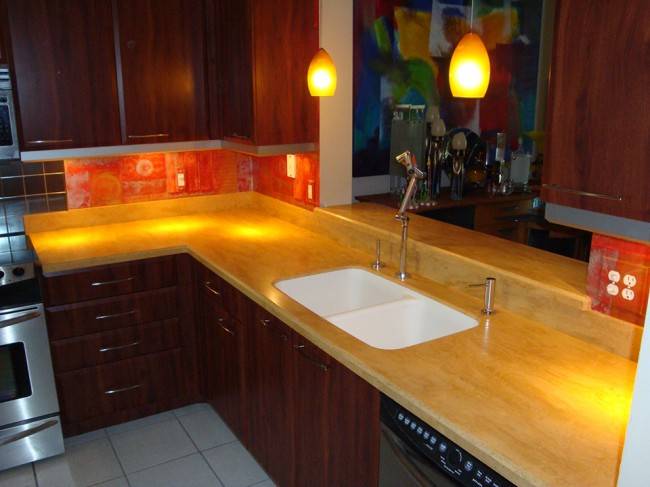 Aztec Gold  Beverin Solid Surface Inc