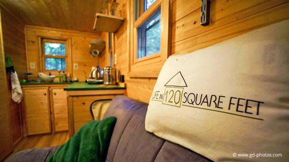 Tiny Home of Life in 120 Square Feet author Laura LaVoie